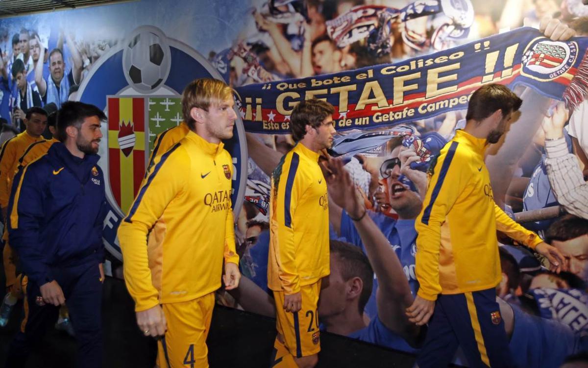 El Barça visita de nuevo el Coliseum Alfonso Pérez