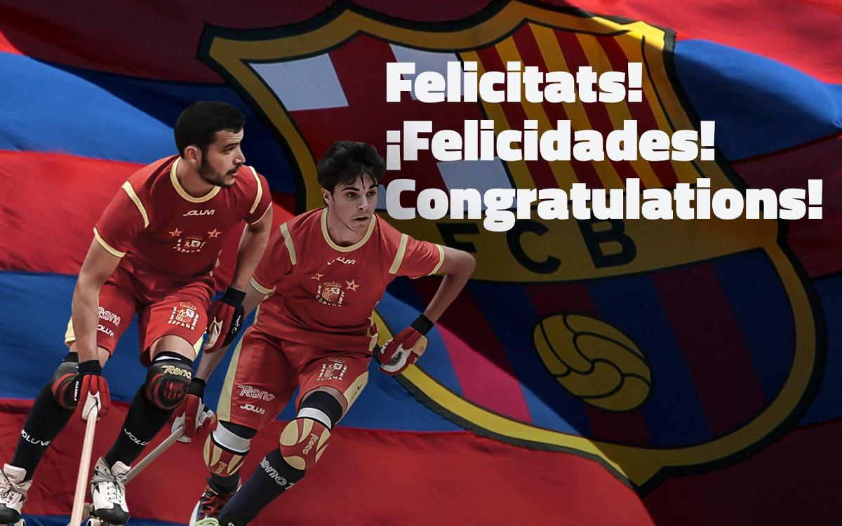 Pau Bargalló i Ignacio Alabart, campions del món!