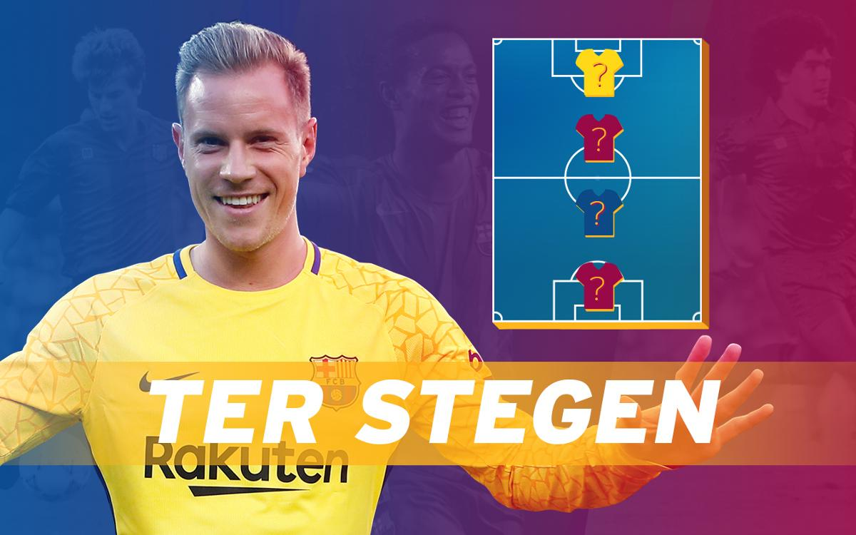 Marc-André ter Stegen: 150 official games for Barça