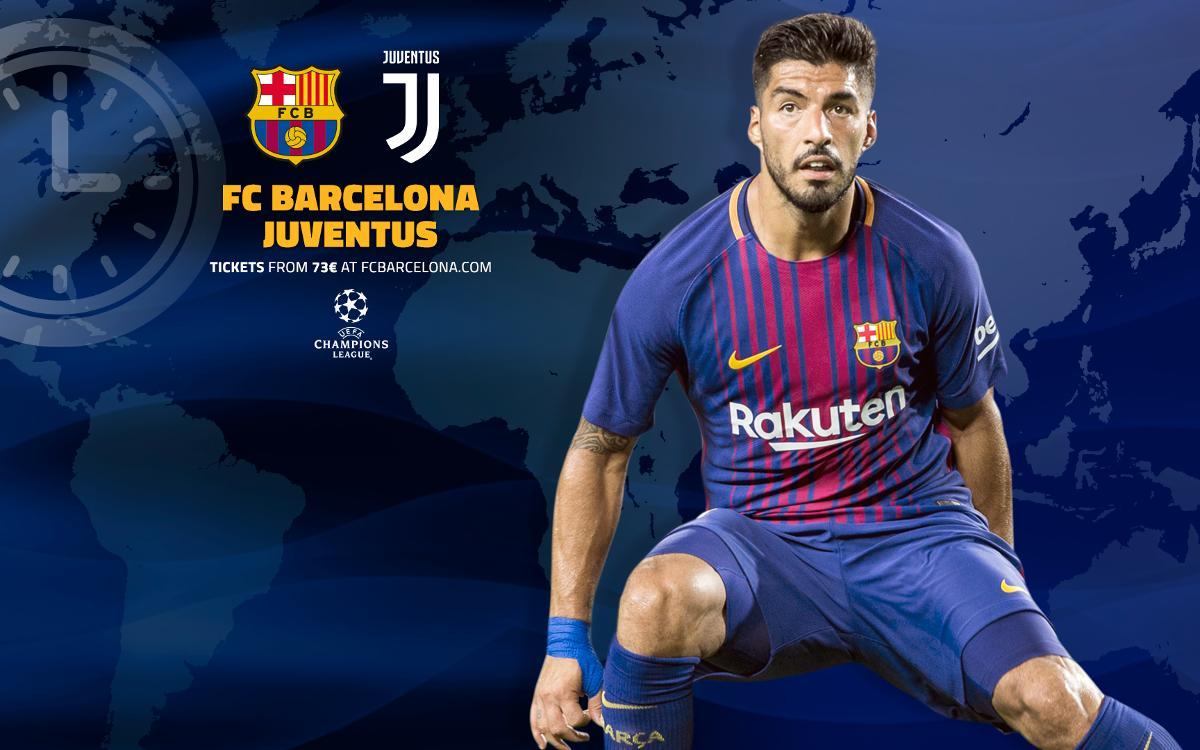 When and where to watch FC Barcelona v Juventus