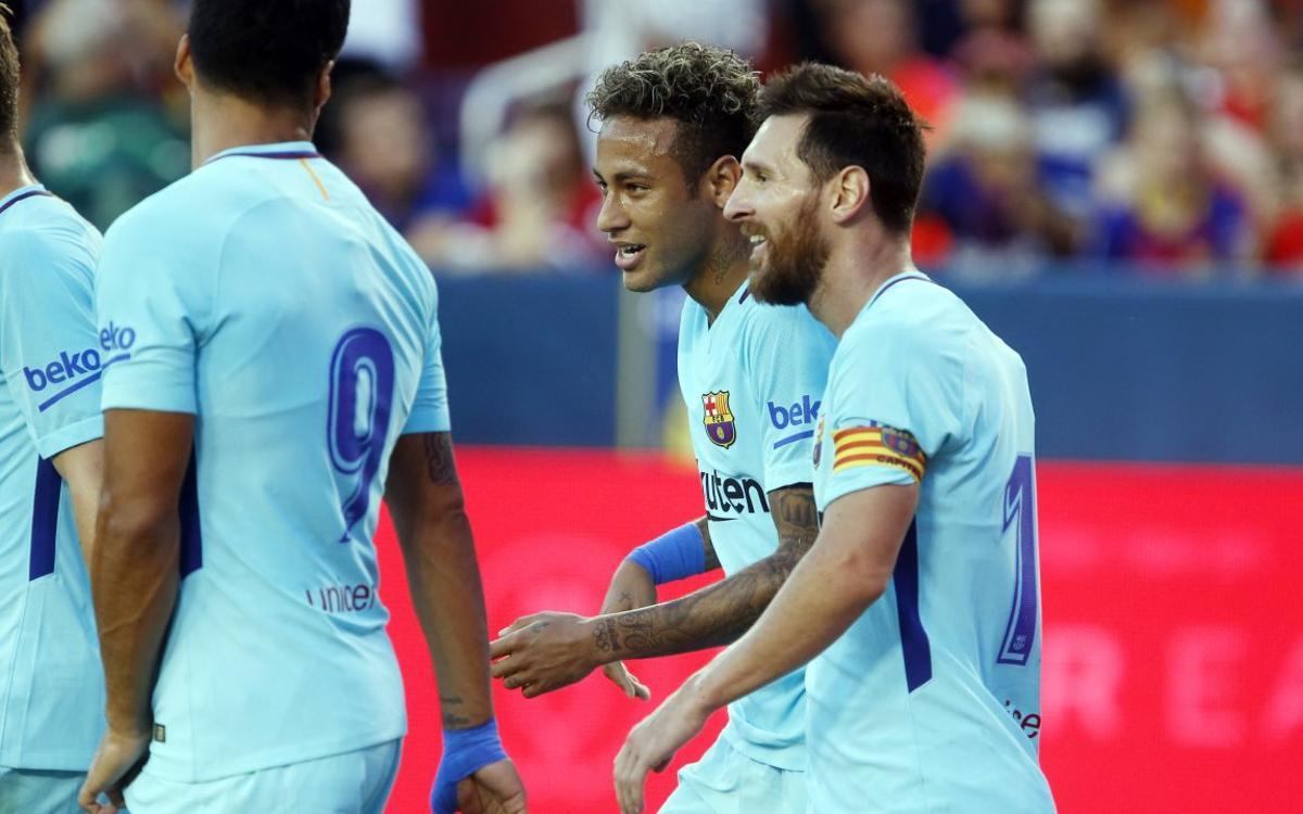 FC Barcelona – Manchester United: Neymar Jr també decideix el segon amistós (1-0)