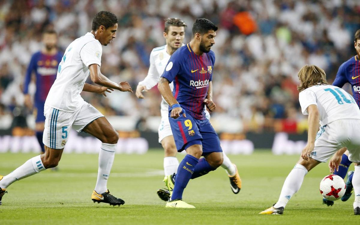 Real Madrid 2-0 FC Barcelona: Super Cup slips away
