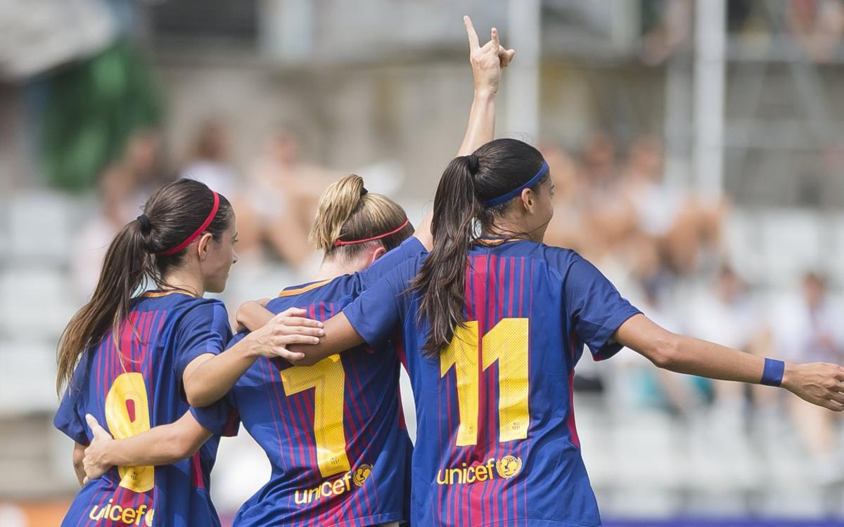 Barça Femení – RCD Espanyol: Dos minuts màgics donen la Copa Catalunya a les de Fran Sánchez (3-0)