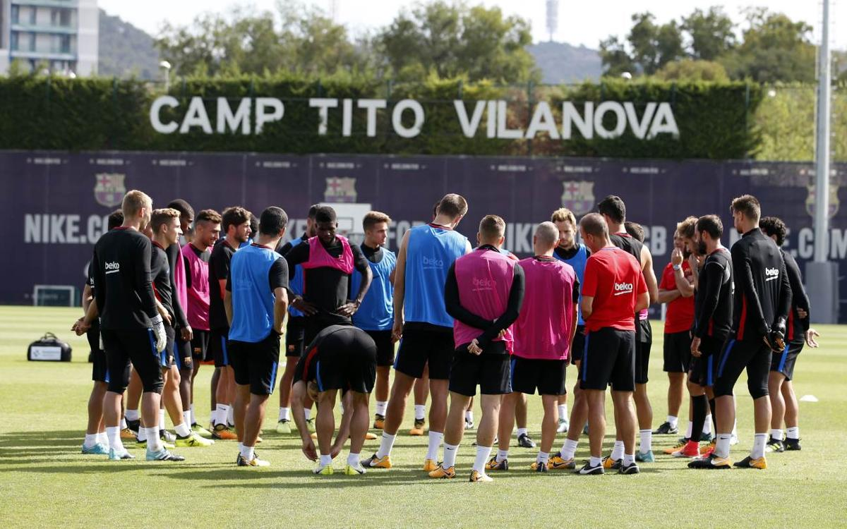 Squad announcement for the second leg of the Spanish Super Cup