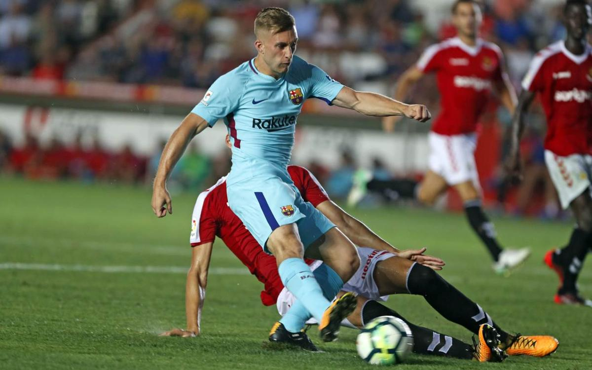 Video highlights of the draw between Nàstic and Barcelona