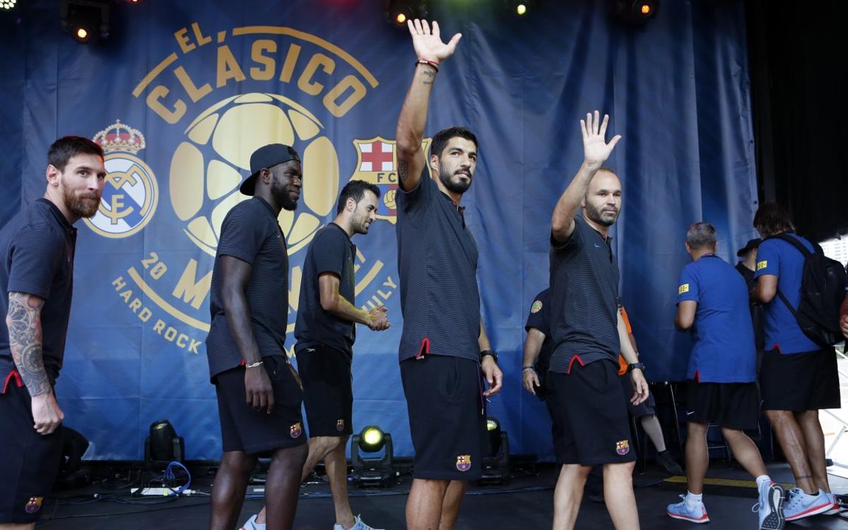 Messi headlines Casa Clásico in Miami