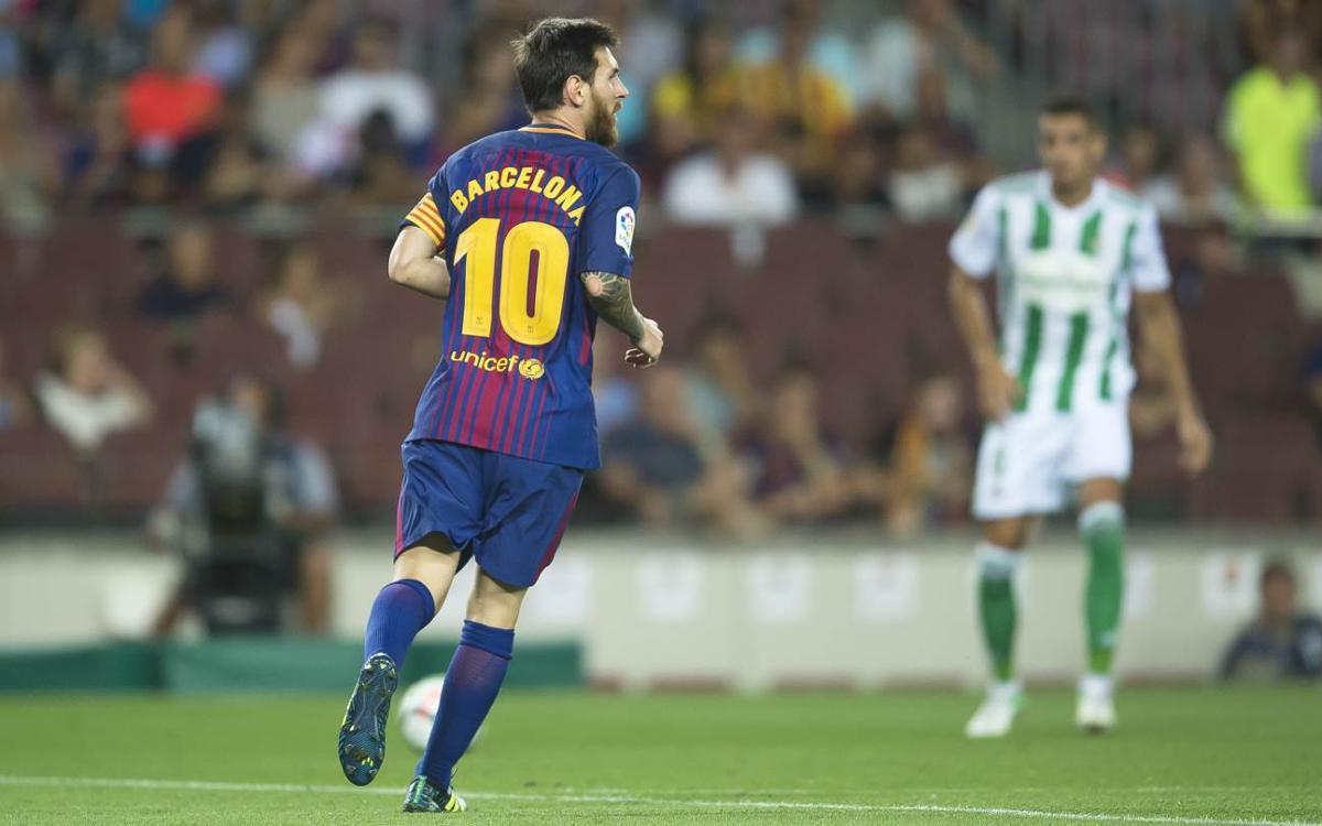 Vidéo - Quand le roi Messi prend les rênes du FC Barcelone
