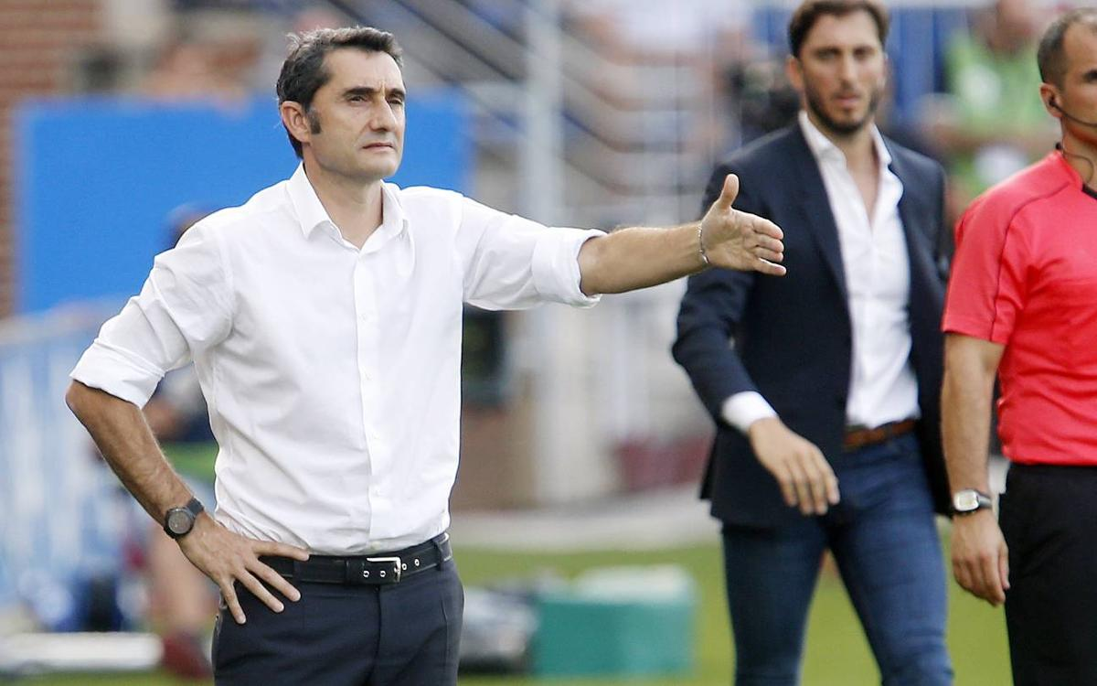 Ernesto Valverde: 'We must give value to this win'
