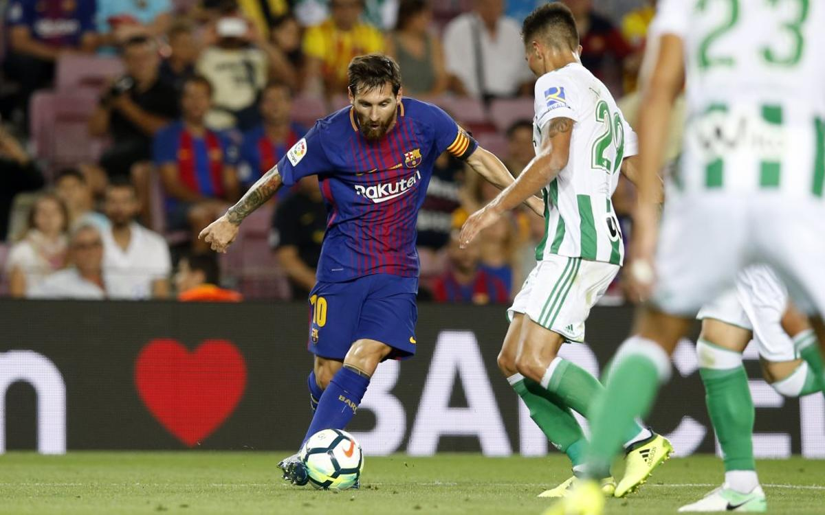 HIGHLIGHTS: Barça 2 Betis 0