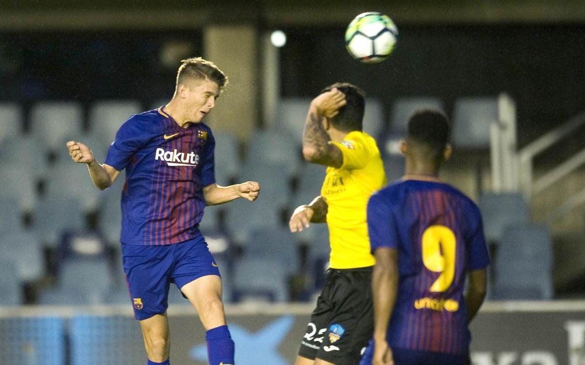 Barça B 1-0 Lleida Esportiu: Preseason ends on a high note