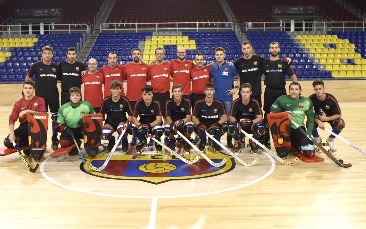 El Barça Lassa de Edu Castro se pone los patines