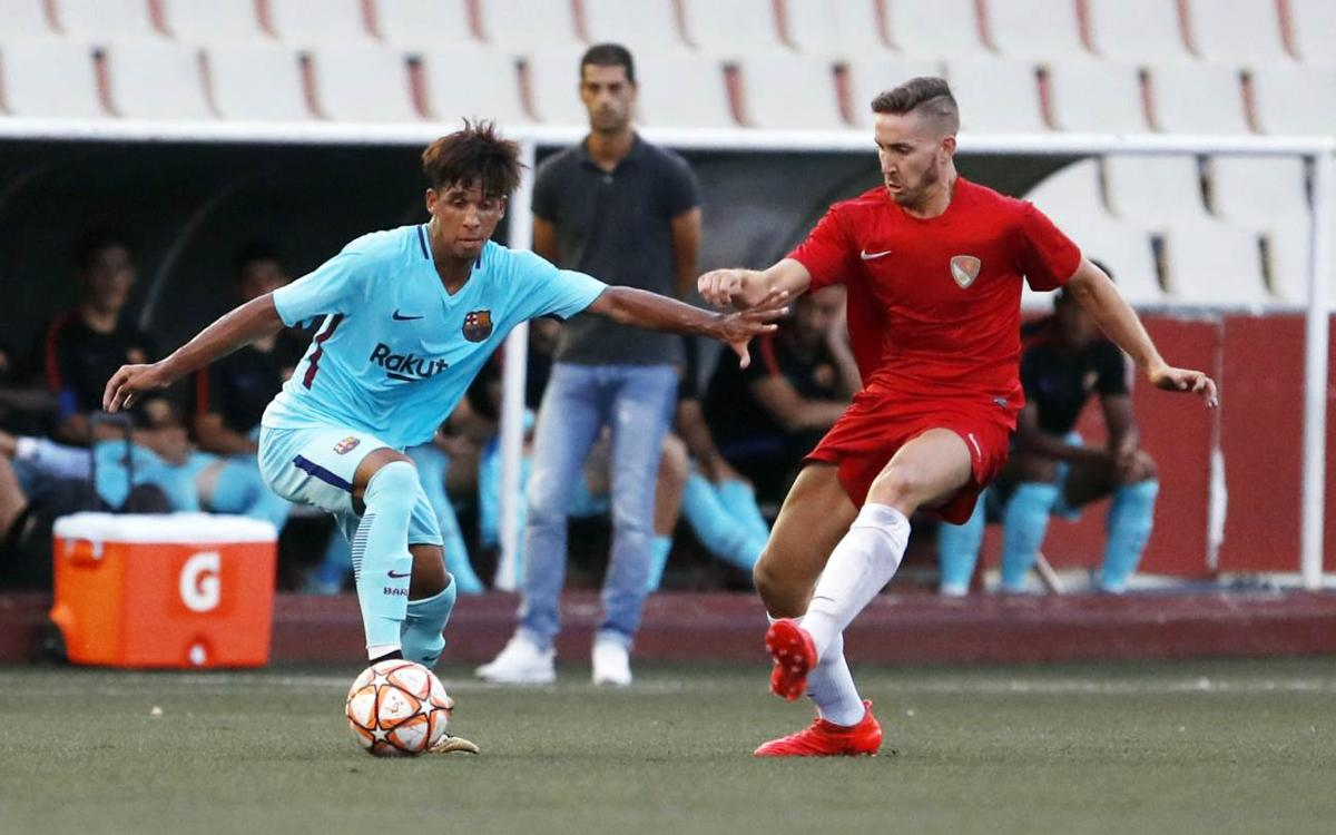 Terrassa vs Barça B: Vitinho's blockbuster not enough for Copa progression (2-1)