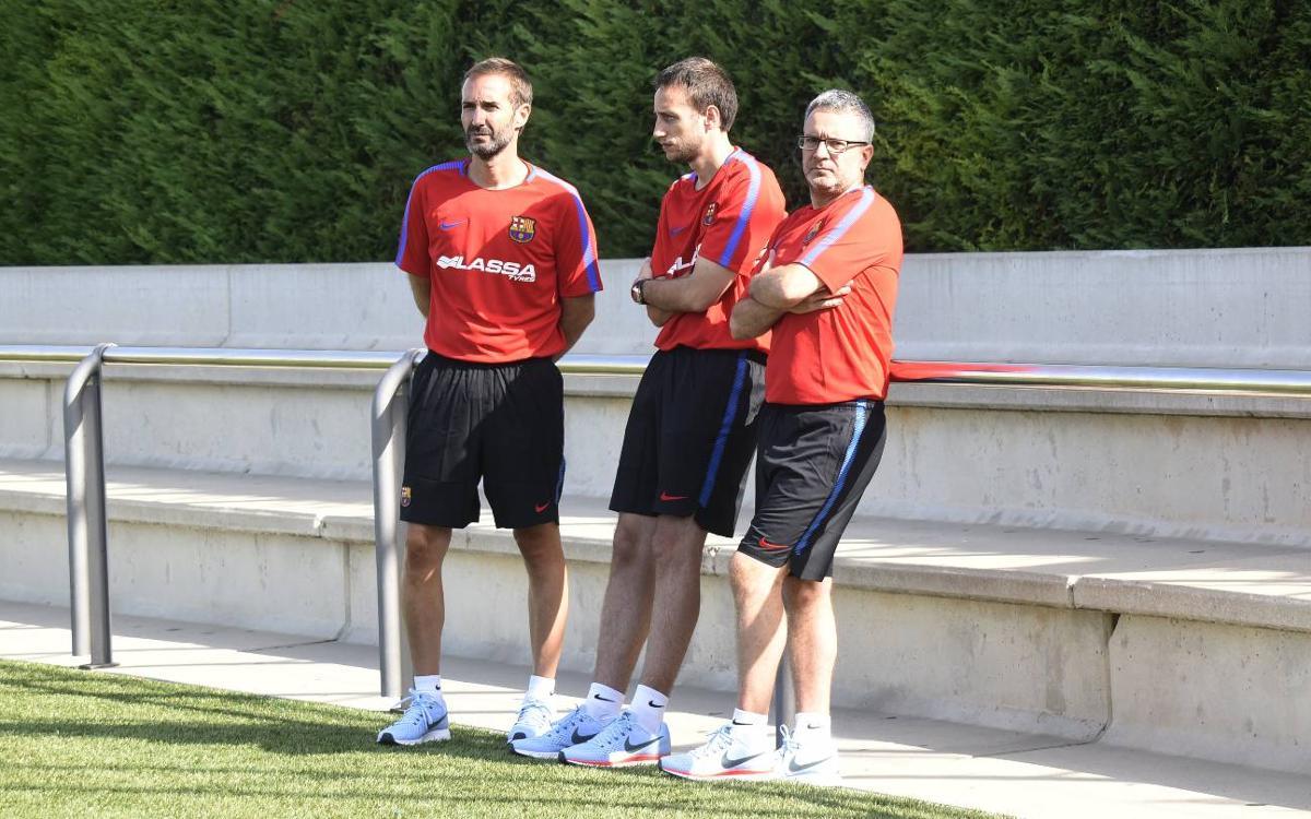 """Sito Alonso: """"A Moerman y a Pressey los he visto con ganas de aprender qué es el Barça"""""""