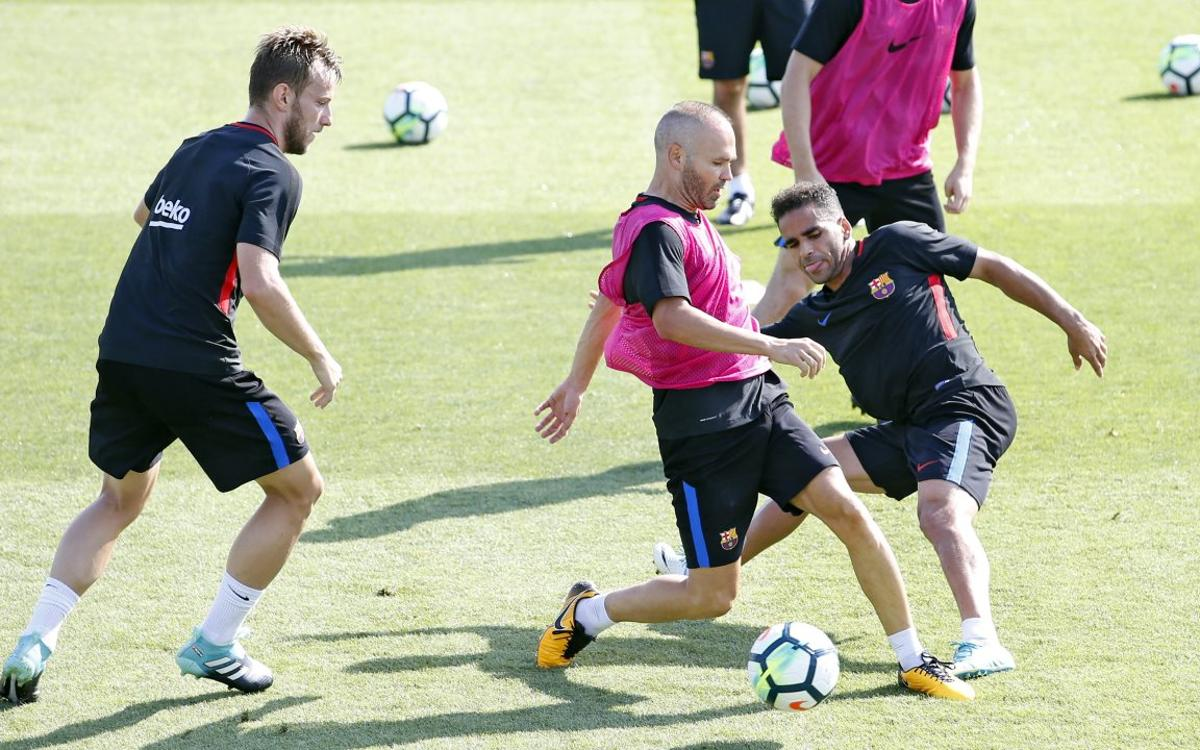 Training schedule for Gamper Trophy and Spanish Super Cup week