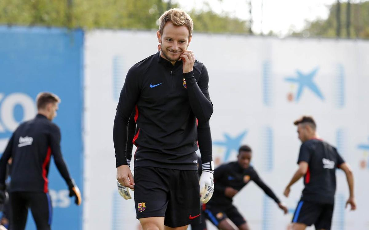 El pla d'entrenaments d'una setmana marcada per la tornada de la Supercopa d'Espanya i el debut a la Lliga