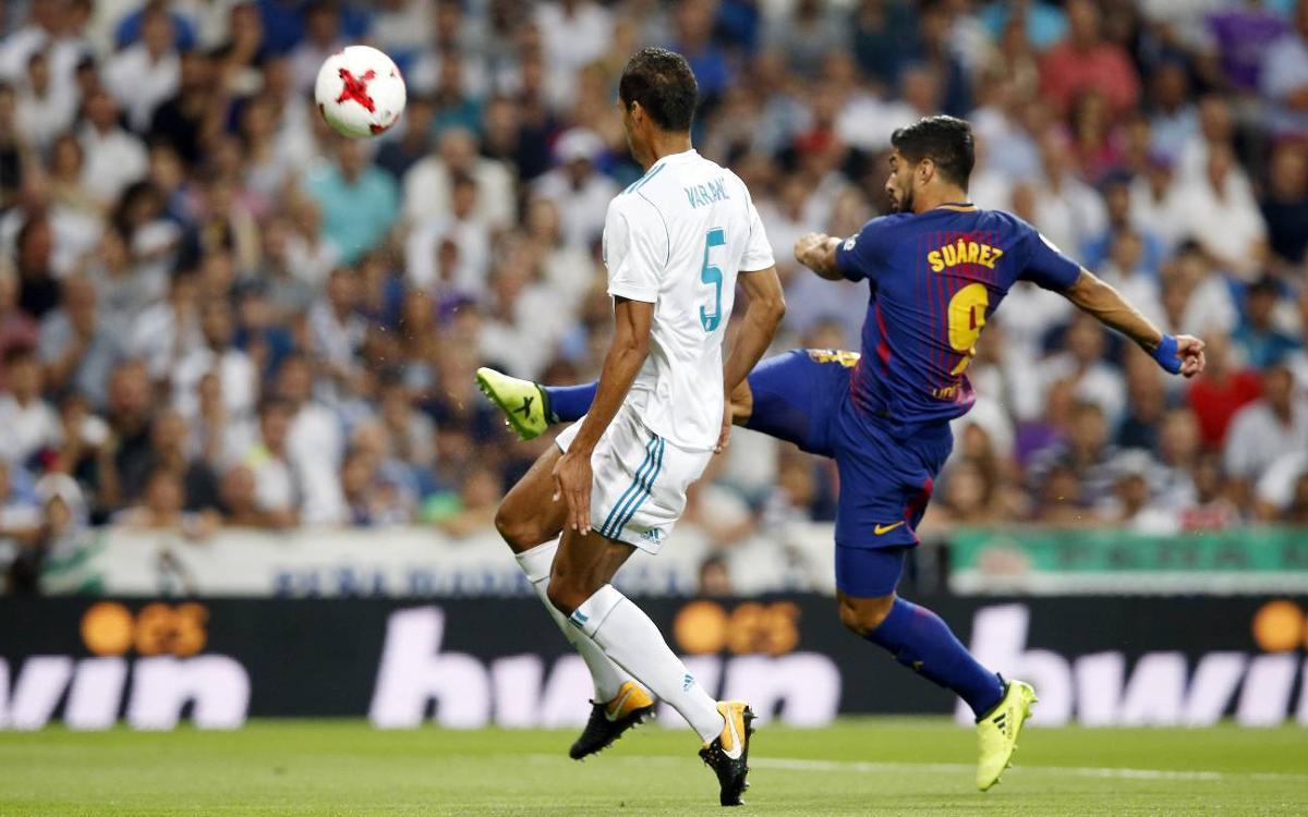 Suárez y Piqué, con molestias tras el Clásico