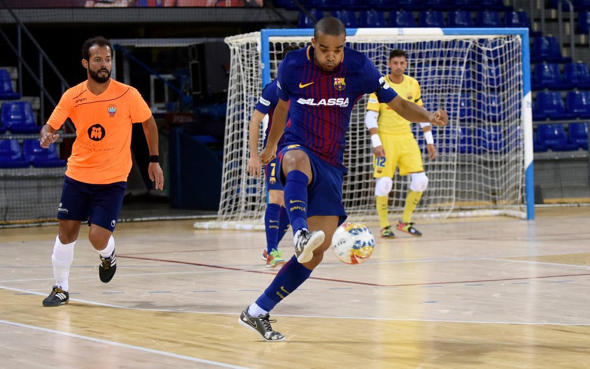 Primer ensayo positivo contra el Mataró (6-0)