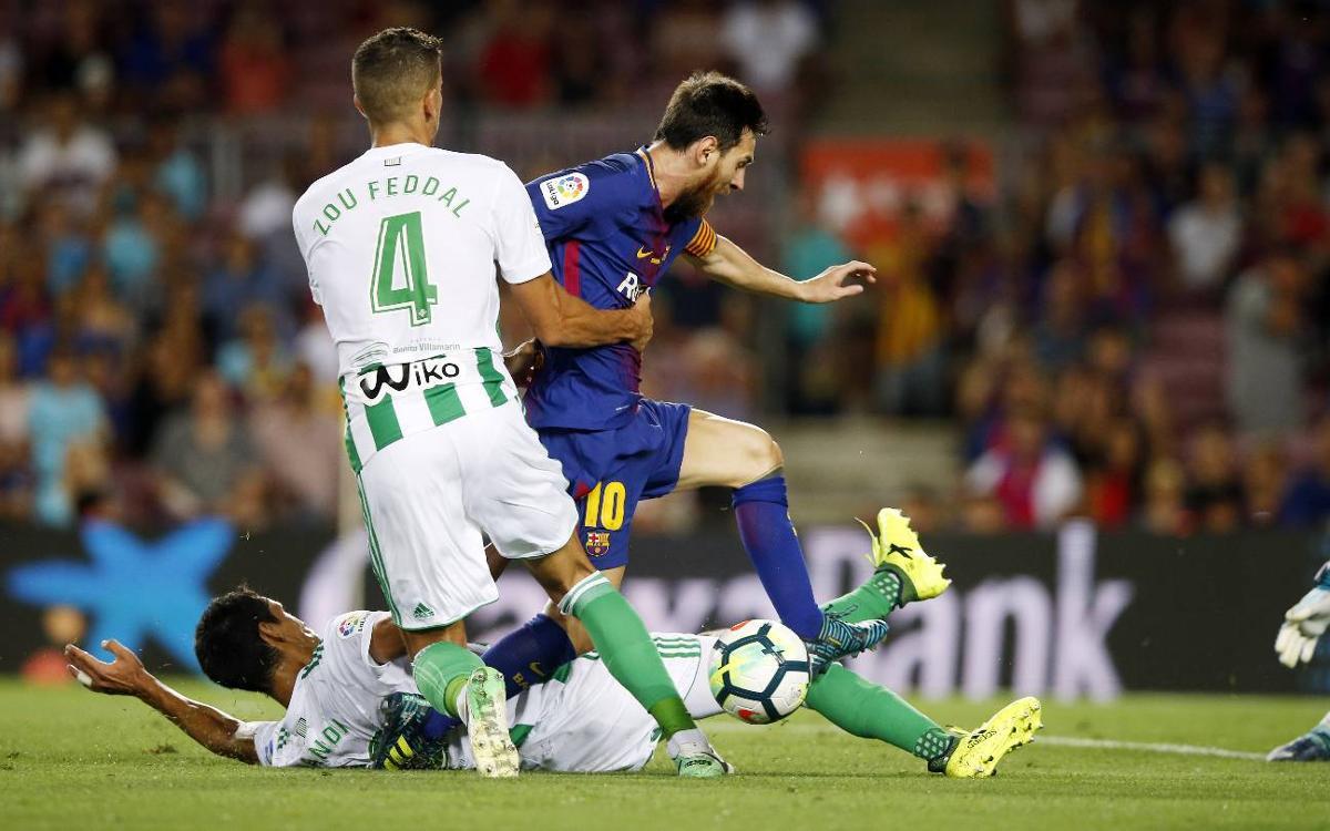 Confirmat l'horari del Barça-Betis