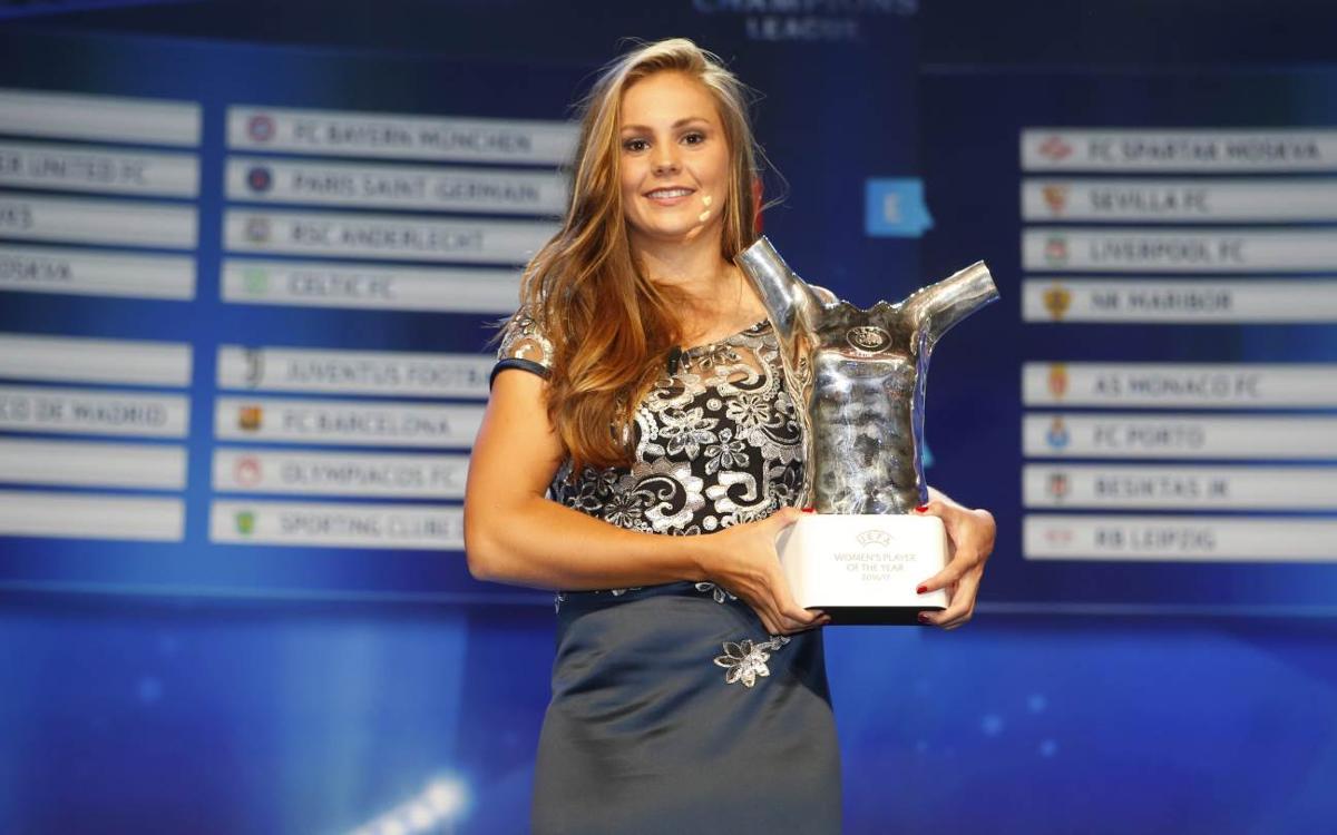 Lieke Martens, elegida jugadora del año de la UEFA