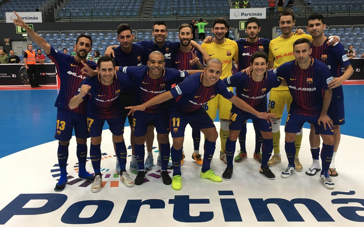 FC Barcelona Lassa 4-3 Sporting Lisbon: Masters Cup ends on winning note