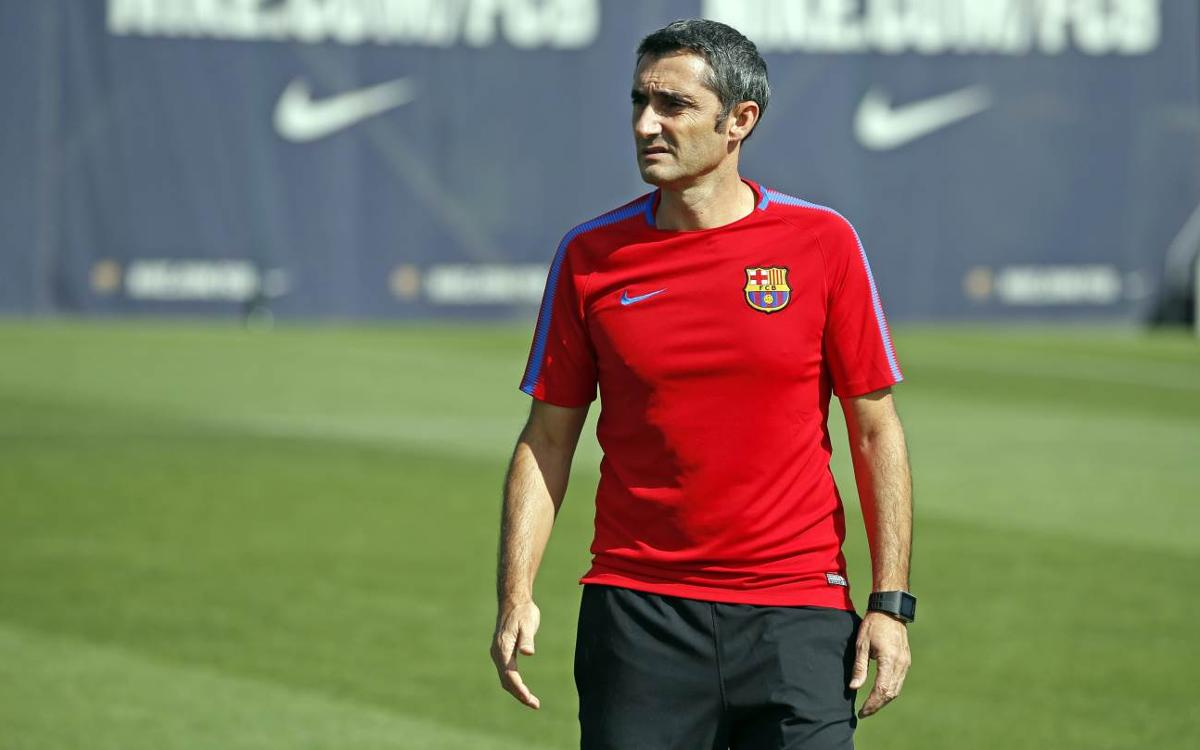 Ernesto Valverde says this Clásico comes with a trophy at stake