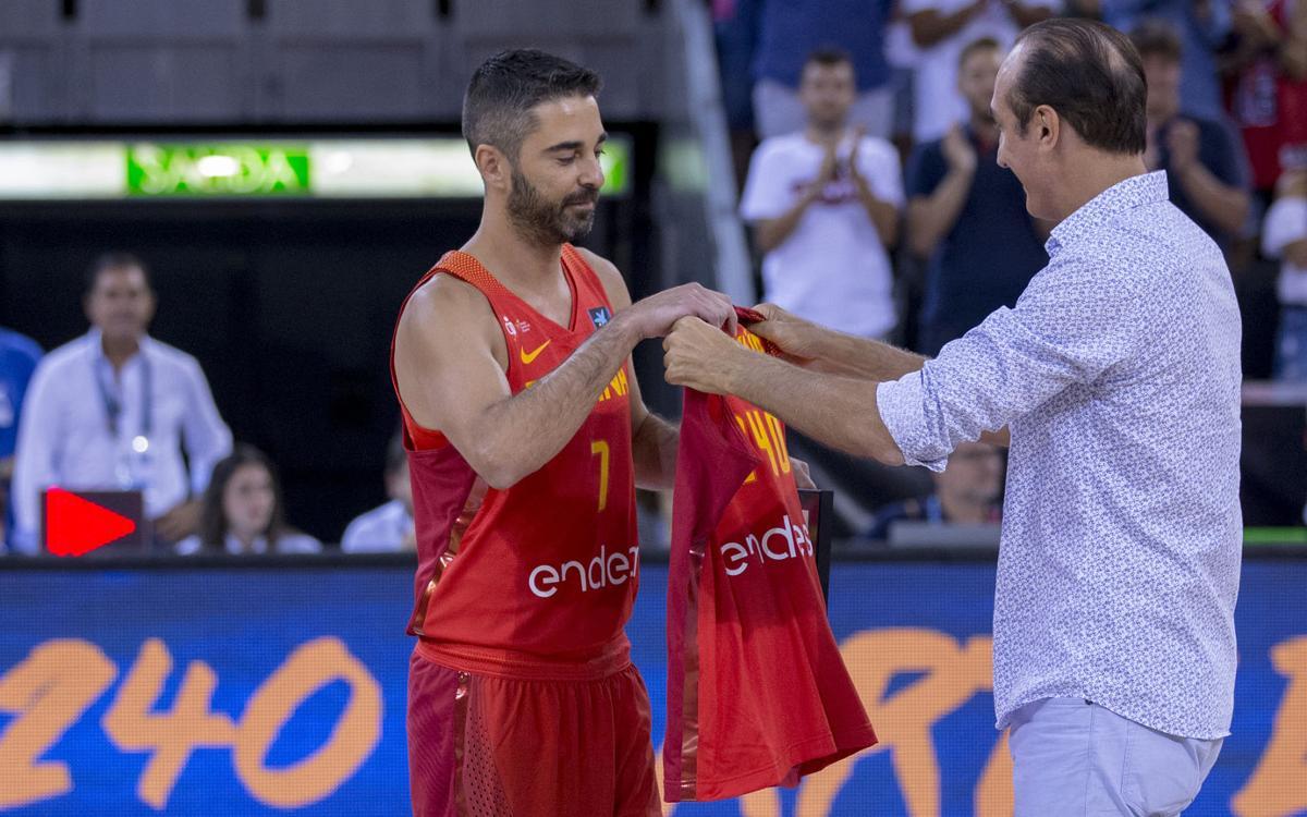Navarro supera a Epi y ya es el jugador con más internacionalidades con España