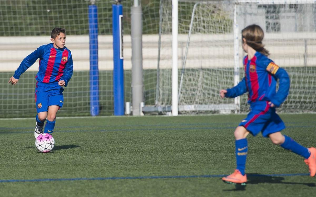 Importante victoria del Infantil B en Tarragona