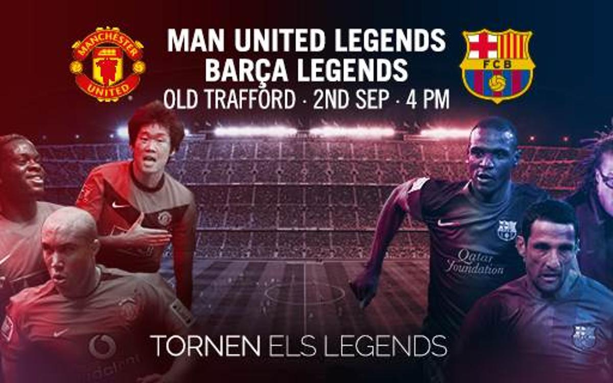 Albert 'Chapi' Ferrer releases the squad list for the Manchester United Legends game