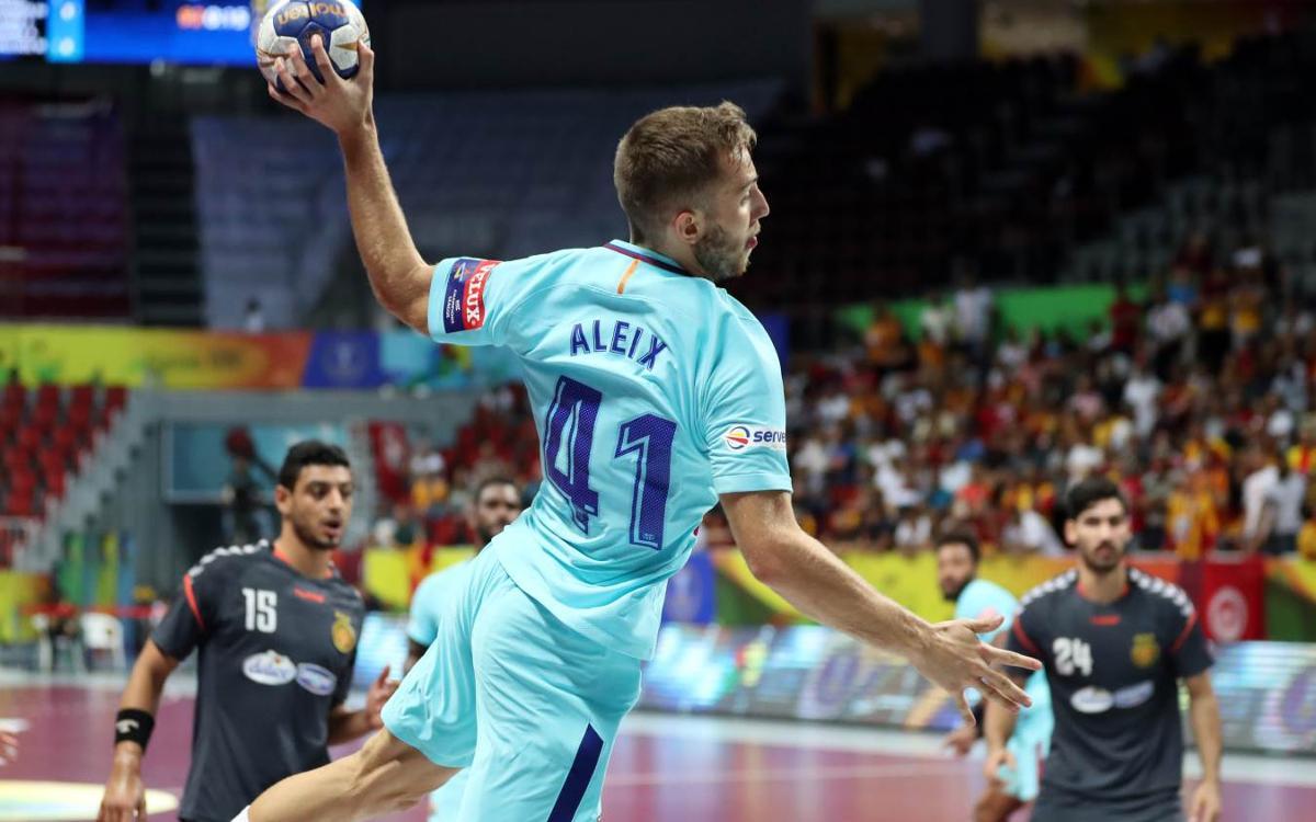 FC Barcelona Lassa – Espérance Sportive: A semifinals del Mundial de Clubs (42-24)