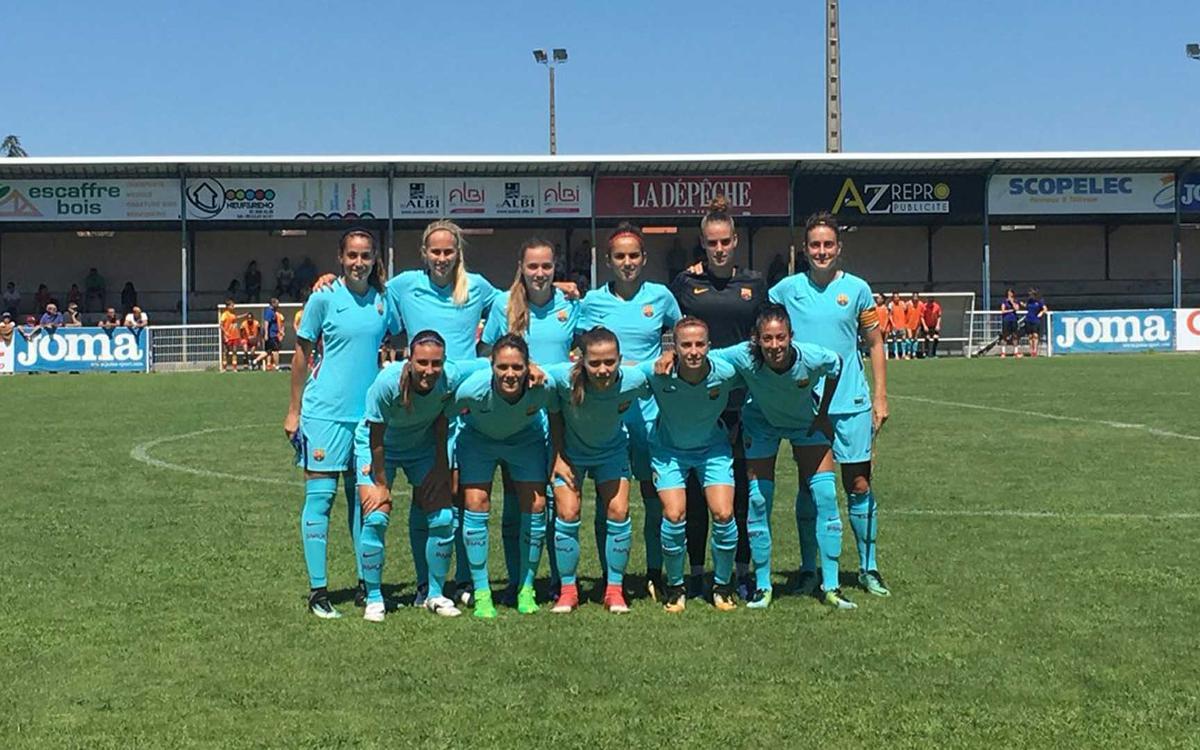 ASPTT Albi – FC Barcelona Women: Comfortable 4-0 away win for Blaugrana ladies