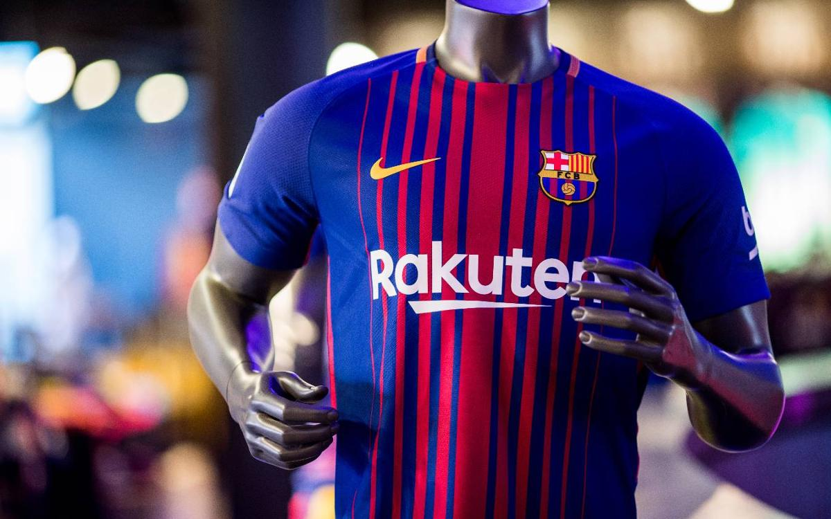 0ca7fb85c207 Rakuten sponsorship deal with FC Barcelona begins