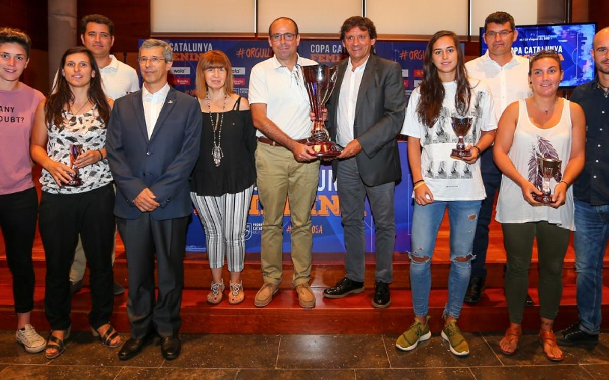 Presentada la Copa Catalunya