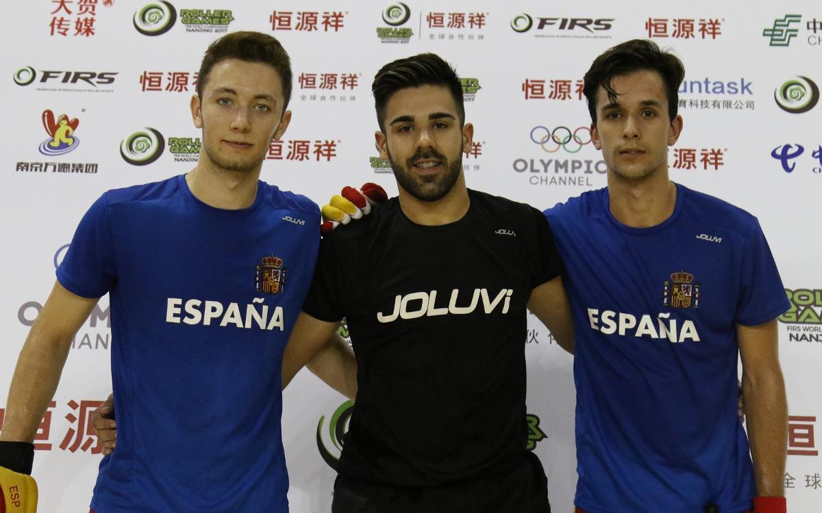 Xavier Arcas, Pablo Najera i Àlex Joseph, a punt per disputar el Mundial sub-20