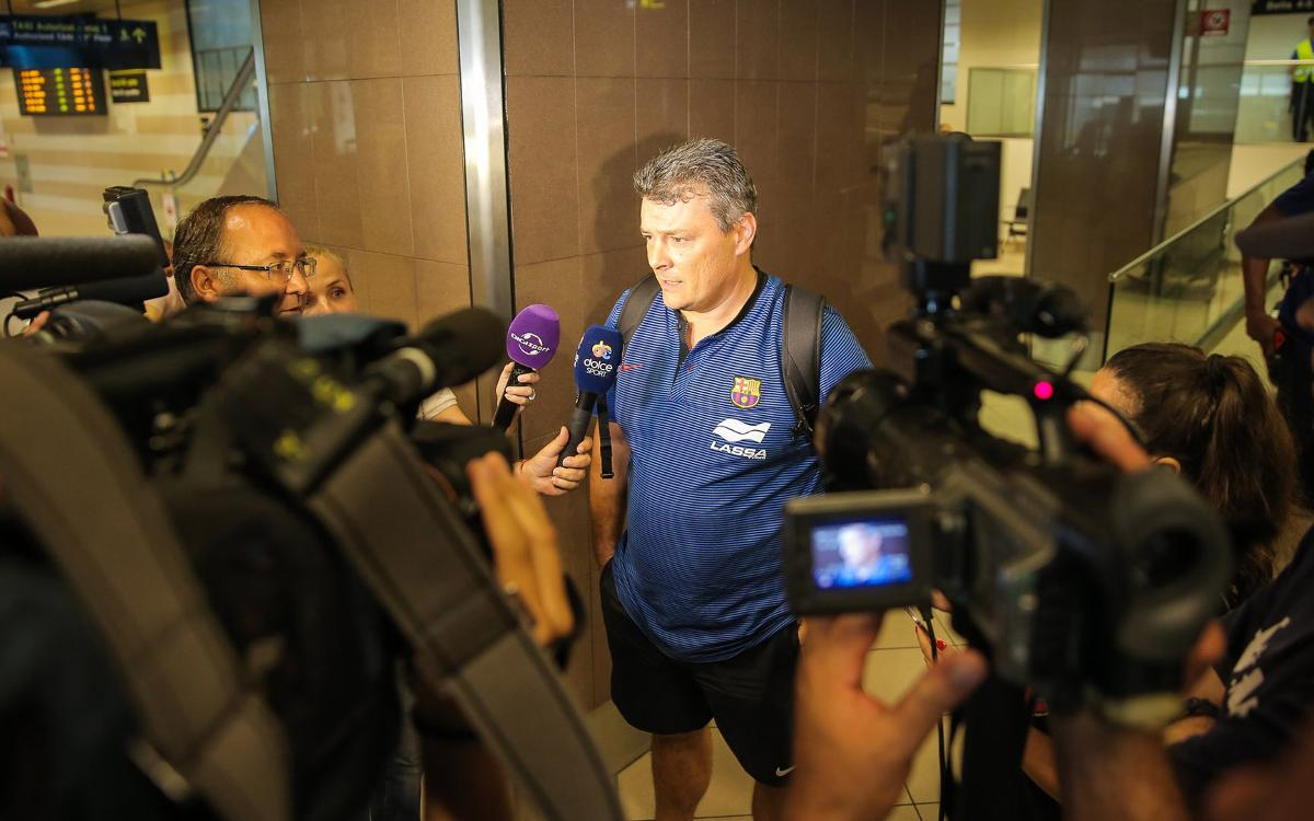 La preparació del Barça Lassa es trasllada de Colònia a Bucarest
