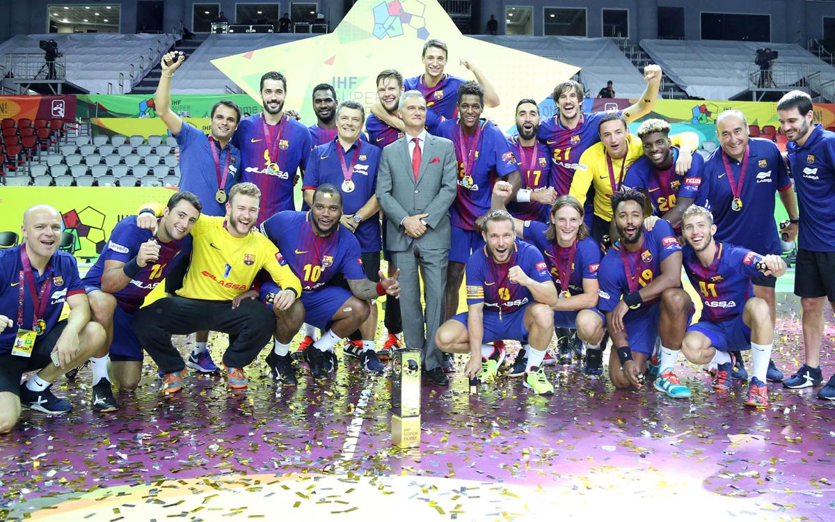 Füchse Berlín - FC Barcelona Lassa: ¡Campeones de la Super Globe! (25-29)
