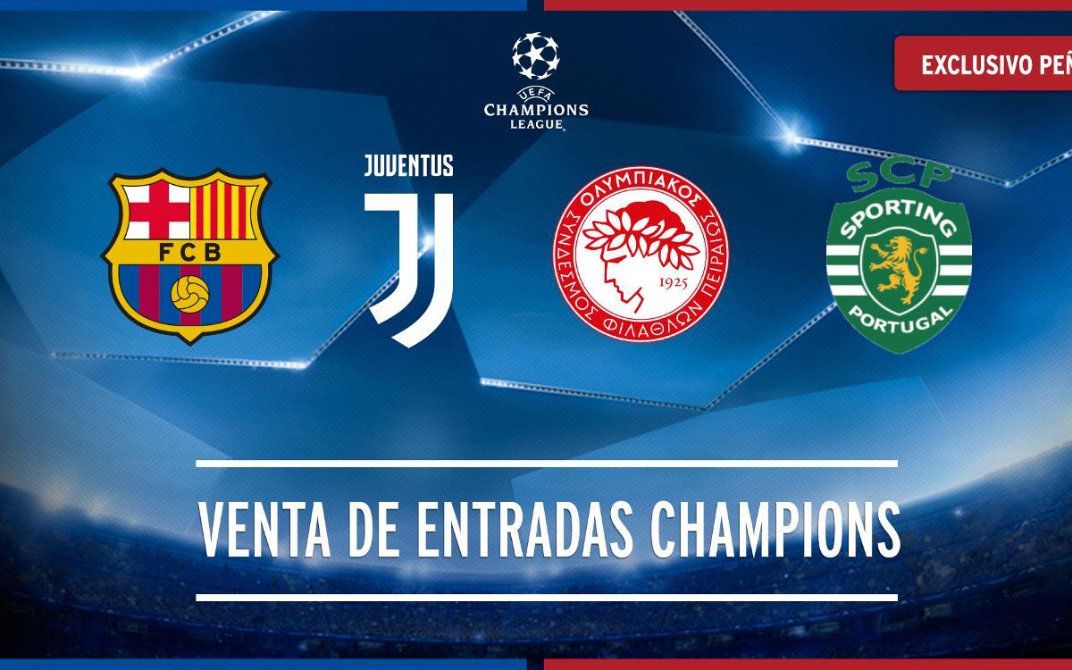 Entradas Liga de Campeones 2017/2018