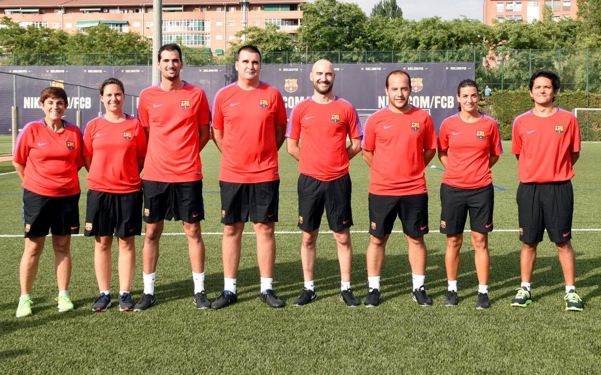El nou staff tècnic del Barça Femení