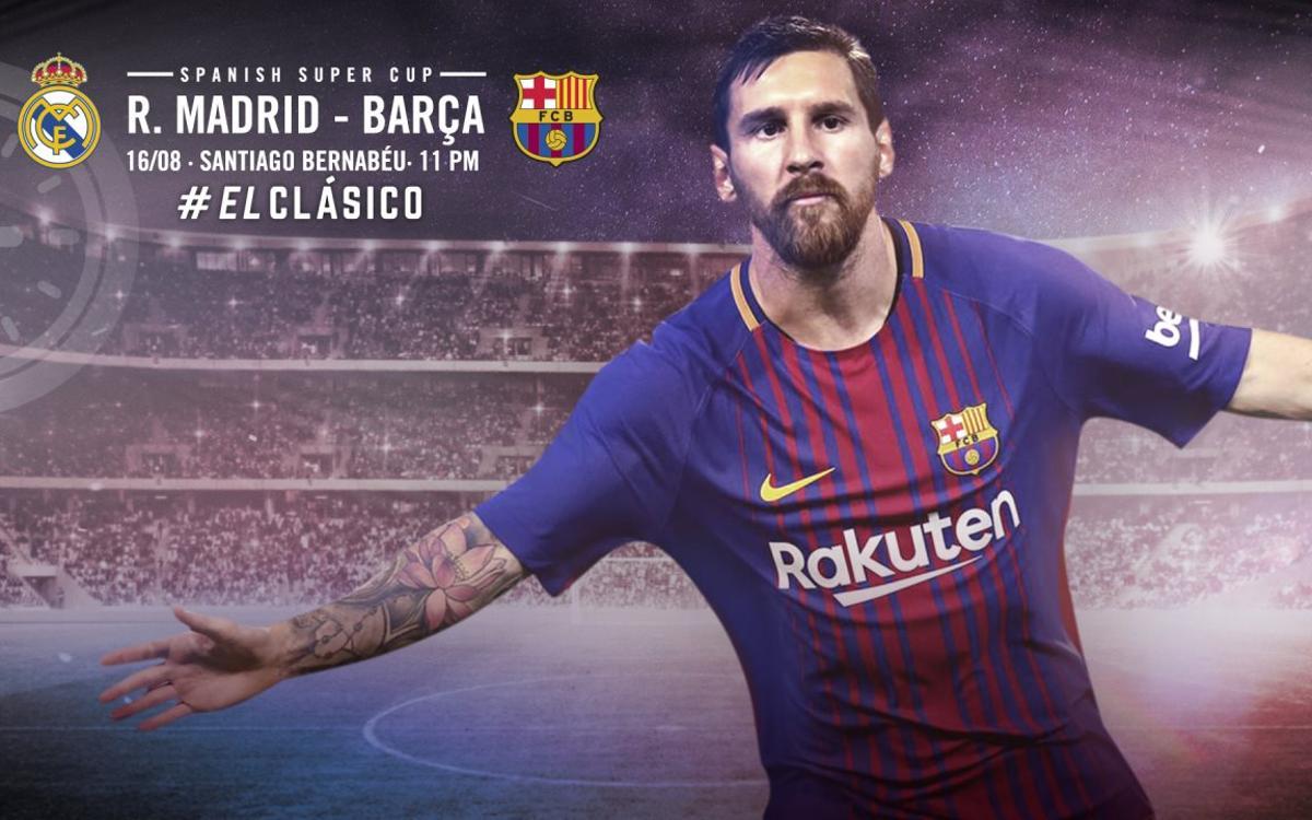 Cuándo y dónde se puede ver el Real Madrid-FC Barcelona