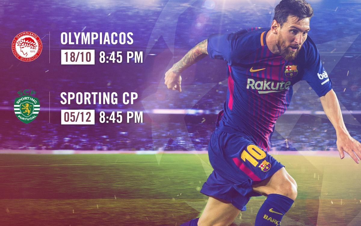 Tickets on sale for Champions League group stage matches at Camp Nou