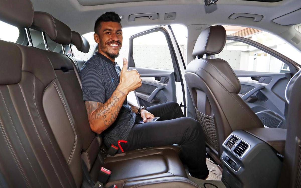 Paulinho's interview on the road