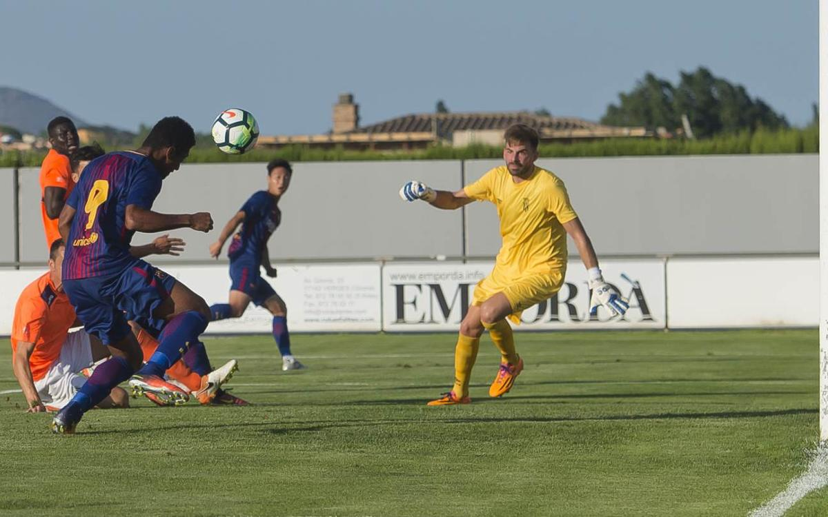Peralada CF 2-1 FC Barcelona B: Late defeat in preseason friendly