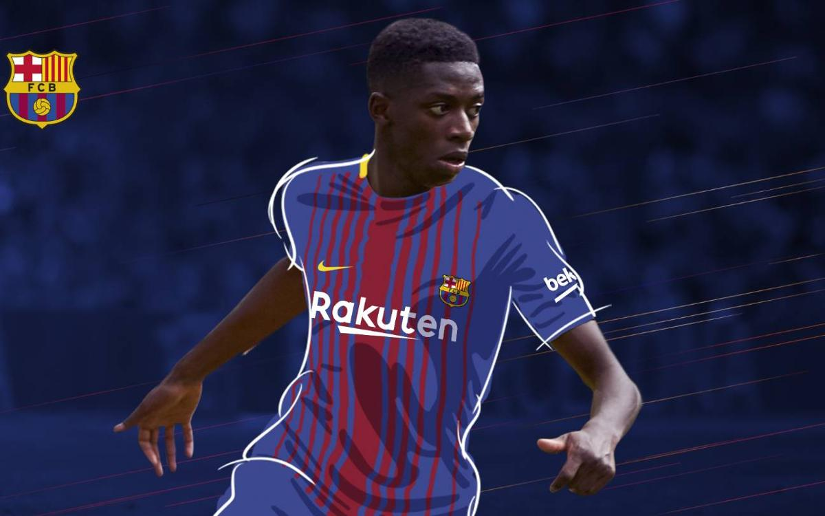 Ousmane Dembélé, FC Barcelona's new signing