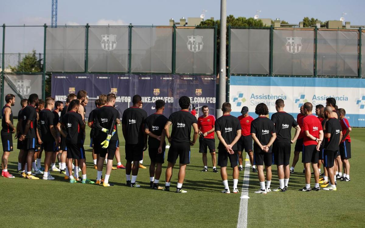 Barça players called up for the US Tour