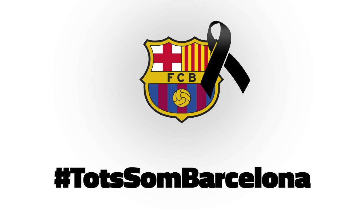 Thoughts are with the victims of the Barcelona attack