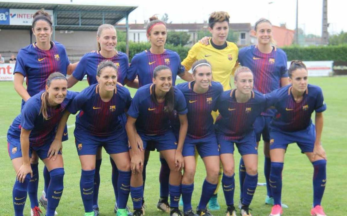 Olympique Marsella – FC Barcelona Femení: Bones sensacions sense gols (0-0)
