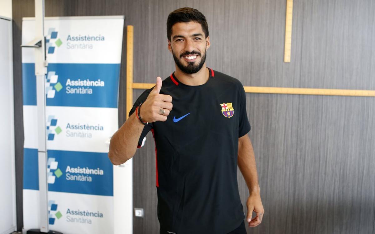 El Barça 2017/18 es posa en marxa amb les proves mèdiques