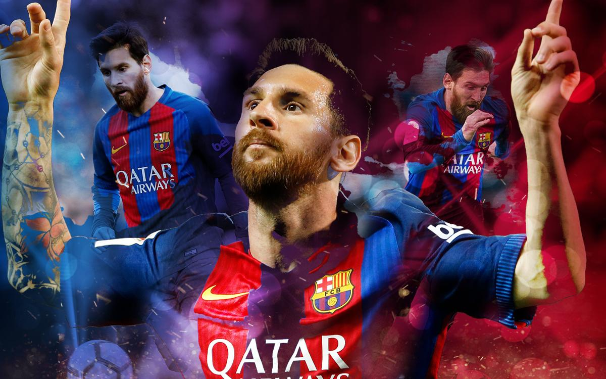 Els 54 gols de Messi a la temporada 2016-17