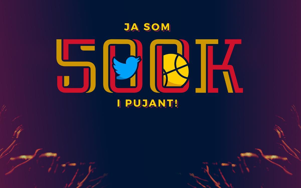 El Barça Lassa, primer equip europeu que arriba als 500.000 seguidors a Twitter