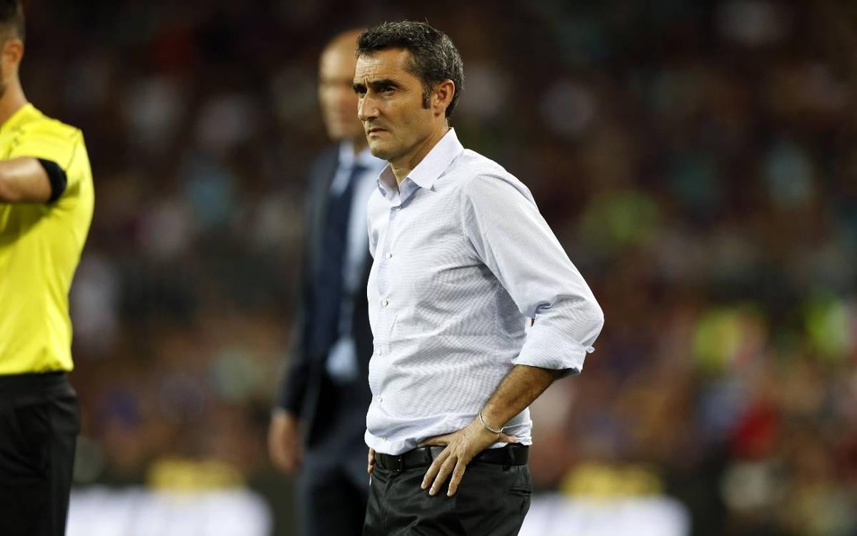 Ernesto Valverde: We have to look forward