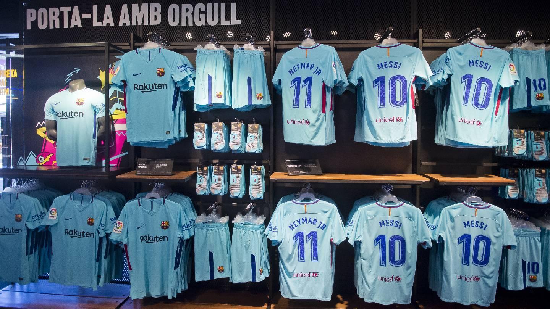 917edec7c2255 La segona equipació del FC Barcelona